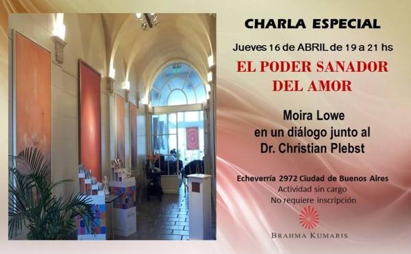 Dialogo entre Moira Lowe y Christian Plebst