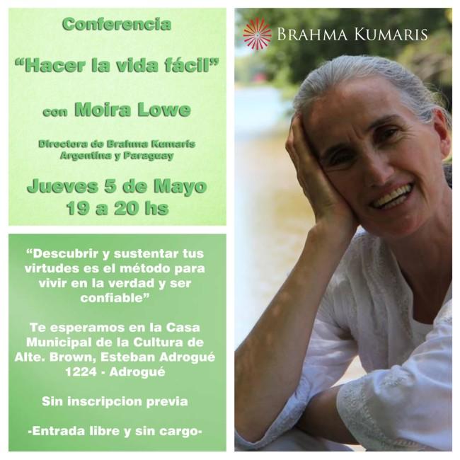 Moira Lowe - Brahma Kumaris - Lomas de  Zamora