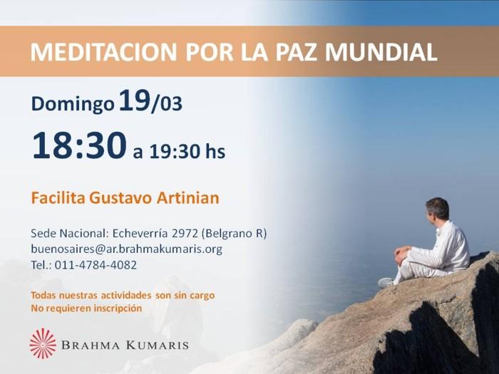 Meditación por la Paz Mundial - Brahma Kumaris Argentina