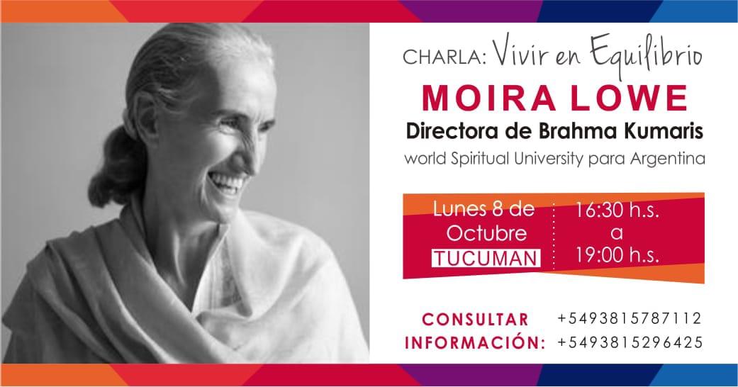 Moira Lowe en Tucuman
