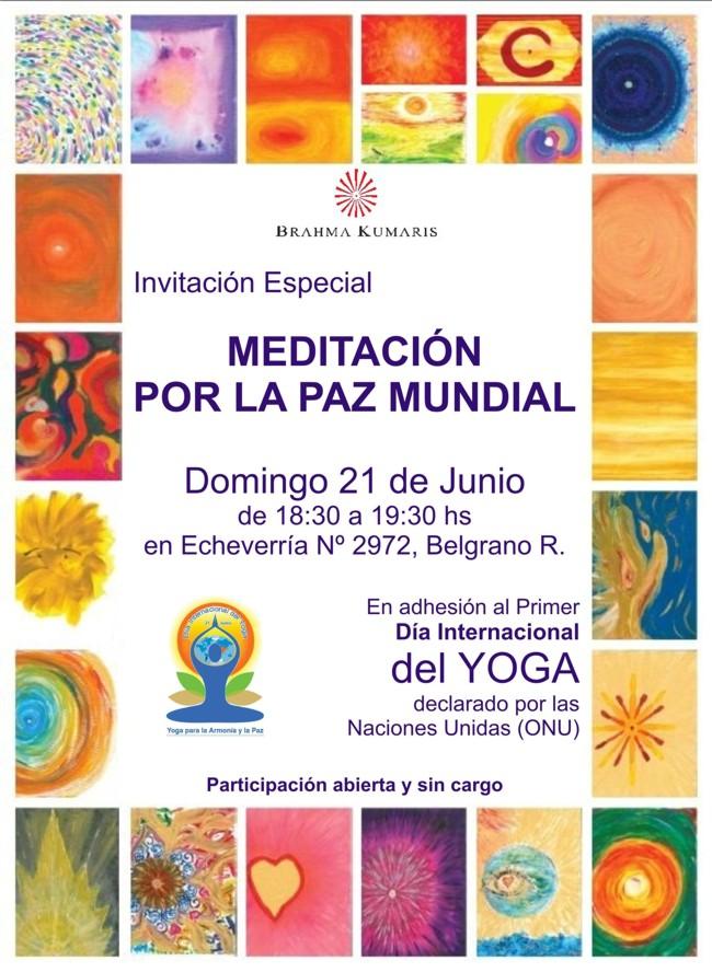 Brahma Kumaris Meditacion Paz Mundial